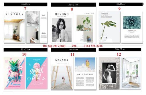 Bìa tạp chí - Phụ kiện chụp ảnh sản phẩm